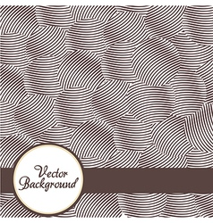 Abstract background with circles lines vector