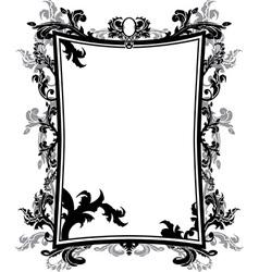 frame stencil vector image
