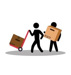 Free delivery design vector