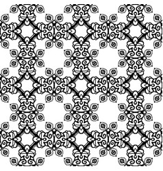 intricate lace pattern background vector image