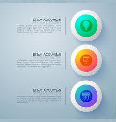 pictogram round buttons background vector image