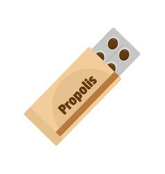 Propolis icon flat style vector