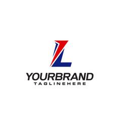 Unique logo that forms letter l matches your vector