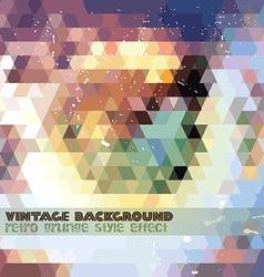 Vintage Retro Design template vector image vector image