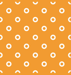 bright colored circles seamless geometric pattern vector image
