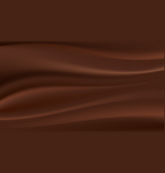 chocolate wave abstract background vector image