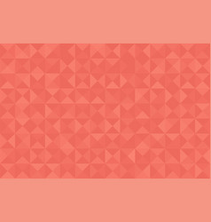 Coral trendy color 2019 abstract background vector