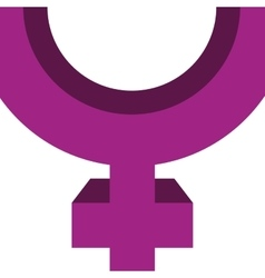 Gender icon Female and Woman design vector