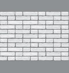 Gray brick wall seamless background old brick vector