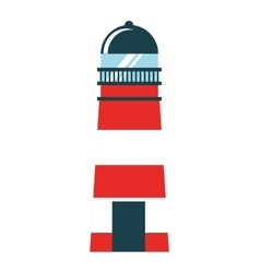 Light house isolated icon design vector