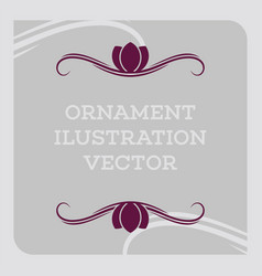 ornament illustration vector image
