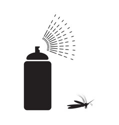 spray aerosol icon isolated vector image