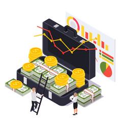 Wealth management case composition vector