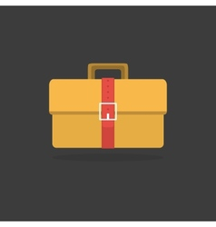 Suitcase - icon vector image
