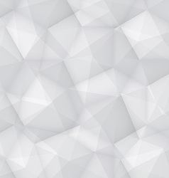 Gray Polygonal Background vector image vector image