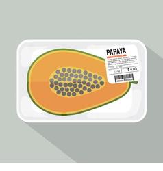 Papaya Pack vector image vector image
