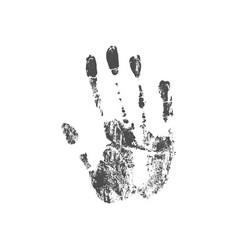 A handprint vector