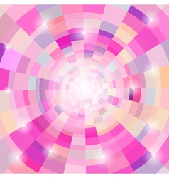 Abstract circular colorful background vector image vector image