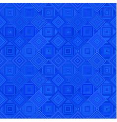 blue geometric diagonal square mosaic tile vector image