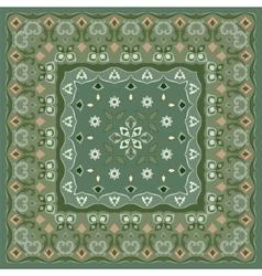 Bright colored handkerchief vector image