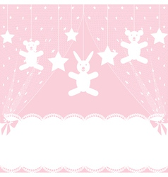 crib vector image