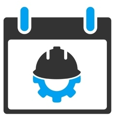 Development Calendar Day Toolbar Icon vector