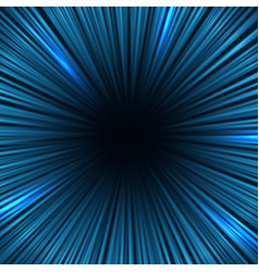 Radial blue light speed lines fast motion effect vector