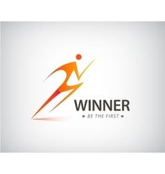 Corporate Success Health Winner logo template vector image vector image