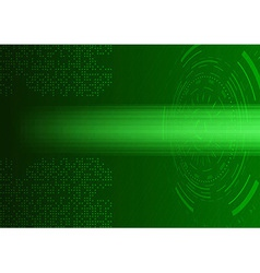 Futuristic abstract transparent background - vector image