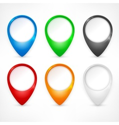 Color map pointers vector image