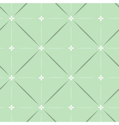 pattern classic green vector image vector image