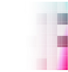Abstract geometric seamless color background vector