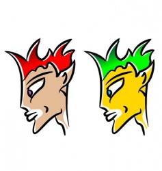 elf avatar vector image