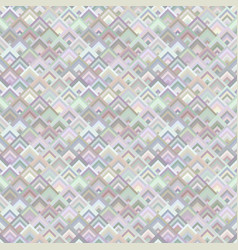 geometrical diagonal shape mosaic pattern vector image