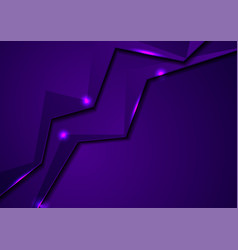glowing neon abstract corporate material vector image