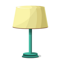 night lamp icon cartoon style vector image