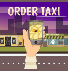 online booking services concept vector image