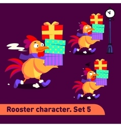 set includes three running vector image