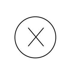 error icon vector image