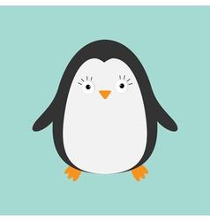 Penguin Cute cartoon character Arctic animal vector image vector image