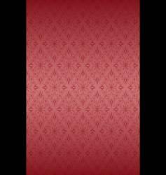 rose ornate pattern vector image
