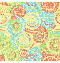 swirl pattern art vector image