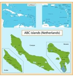 ABC Islands vector image vector image