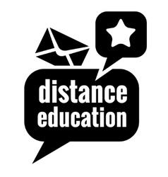 black education icon vector image