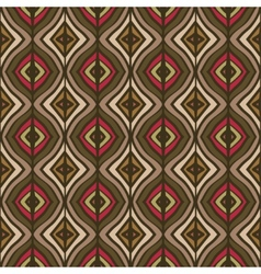 hand drawing the ethnic pattern vector image
