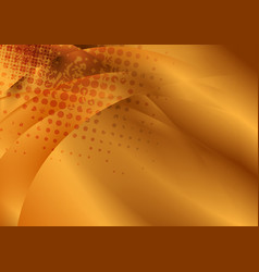 bright bronze color abstract grunge waves vector image