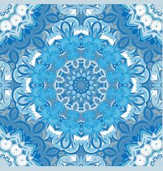 festival art seamless mandala pattern vector image
