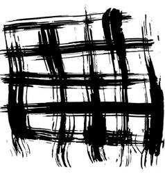 ink brush background grunge vector image