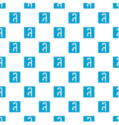 left turn arrow pattern seamless vector image