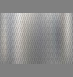 metal background with pattern vector image
